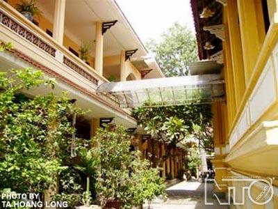 NTO - Chùa Quán Sứ - Tinh hoa nghệ thuật kiến trúc và trang trí